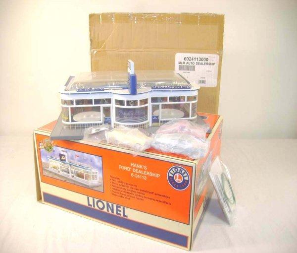 414: ABT: Mint Lionel #24113 Hank's Ford Dealership/OB