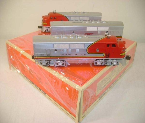 415: ABT: Lionel #11711 SF F-3 ABA Diesels/OB
