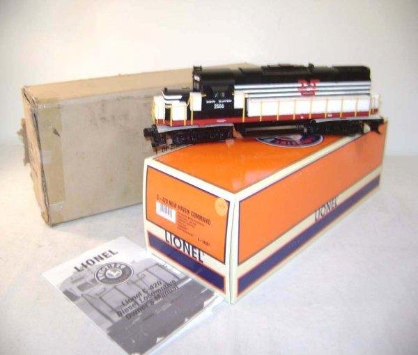 417: ABT: Lionel #28507 C-420 NH Command Electric/OB