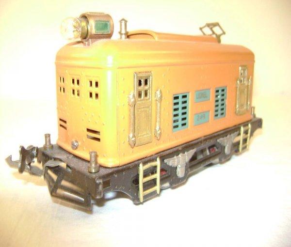 7: ABT: Lionel #248 Orange Electric w/#629/630 Passenge