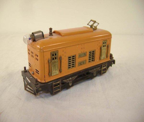 17: ABT: Lionel #248 Orange Electric
