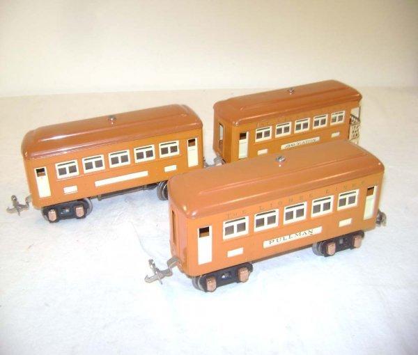18: ABT: Lionel #603/603/604 Orange Passenger Cars (R)