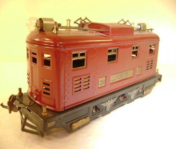 24: ABT: Lionel #251 Dark Red Electric (R)
