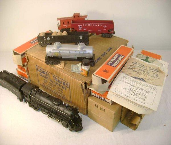 125: ABT: Lionel #1479WS 1952 Steam Freight Set/OBs