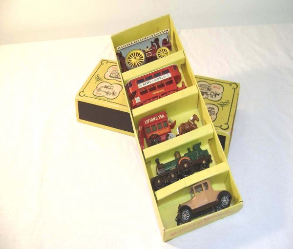 700: ABT: Mint Matchbox G-7 Yesteryear Gift Set/OB