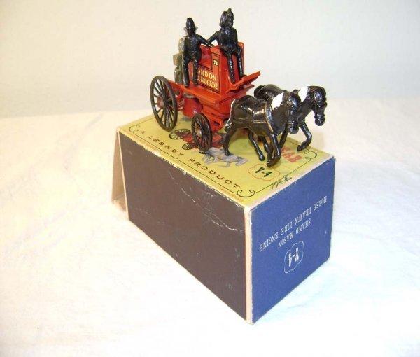 701: ABT: Mint Matchbox Y-4 Shand Mason Horse Drawn Fir
