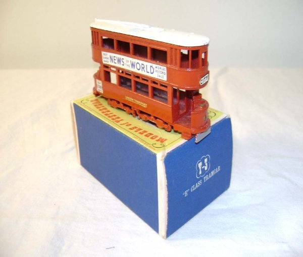 702: ABT: Mint Matchbox Y-3 1907 London 'E' Class Tramc