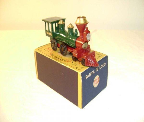 704: ABT: Mint Matchbox Y-13 1962 Santa Fe Locomotive /