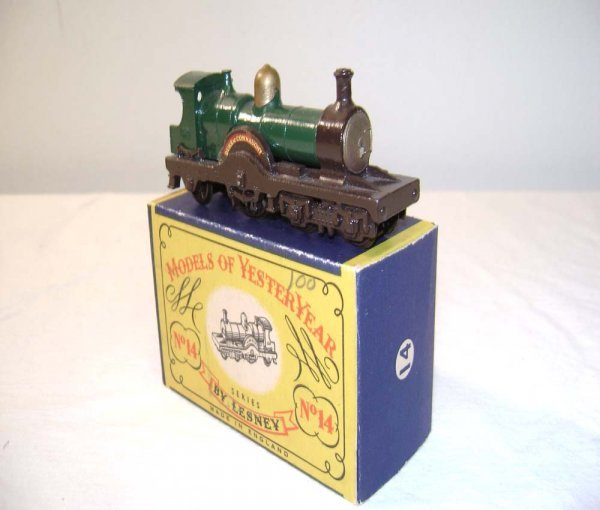 705: ABT: Mint Matchbox Y-14 1903 Duke of Connaught Loc
