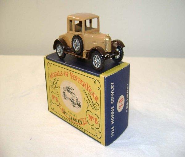 707: ABT: Mint Matchbox Y-8 1926 Morris Cowley Bullnose
