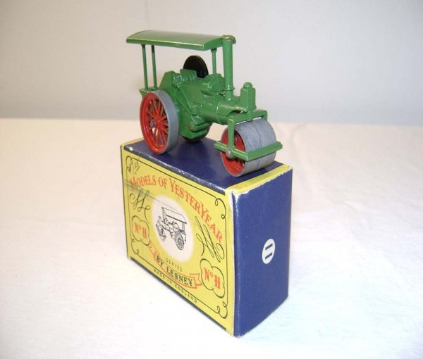 709: ABT: Mint Matchbox Y-11 1920 Aveling & Porter Stea