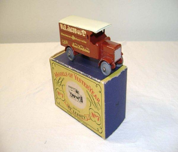 711: ABT: Mint Matchbox Y-7 1918 4 Ton Leyland Lorry/OB