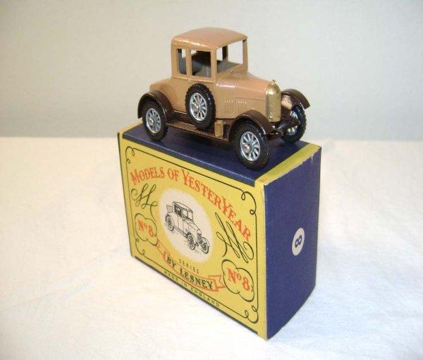 713: ABT: Mint Matchbox Y-8 1926 Morris Cowley Bullnose