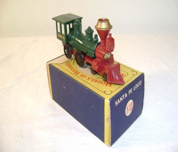 715: ABT: Mint Matchbox Y-13 1962 Santa Fe Locomotive /