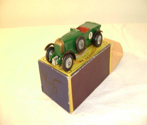 717: ABT: Mint Matchbox Y-5 1929 Le Mans Bentley/OB