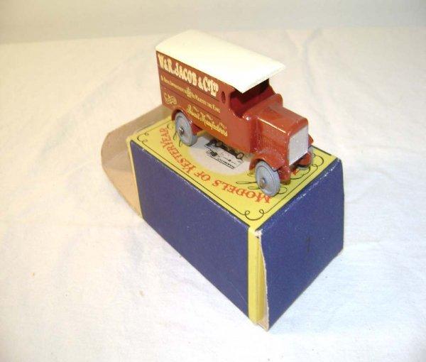 719: ABT: Mint Matchbox Y-7 1918 4 Ton Leyland Lorry/OB