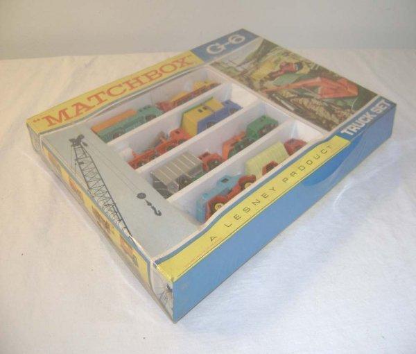 745: ABT: Mint Matchbox G-6 Truck Set Gift Pack/OB