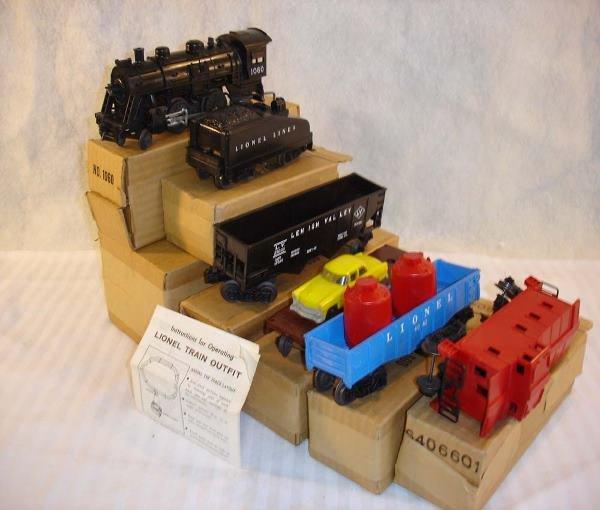 1: ABT:Amazing Lionel #1060 Salesman Box Sample Set