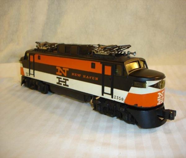 10: ABT:Scarce Lionel #2350 Orange N New Haven/ Decals