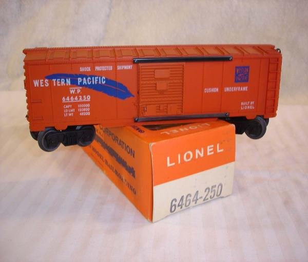 13: ABT:Mint Lionel #6464-250 Western Pacific/66c OB