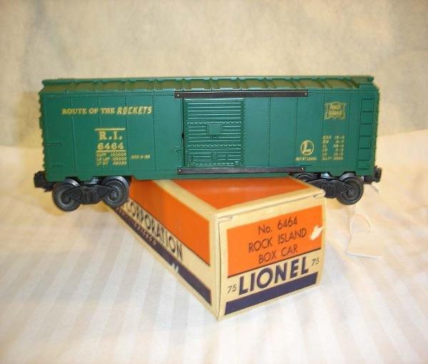 16: ABT:Mint Lionel #6464-75 Green Rock Island/55-OB