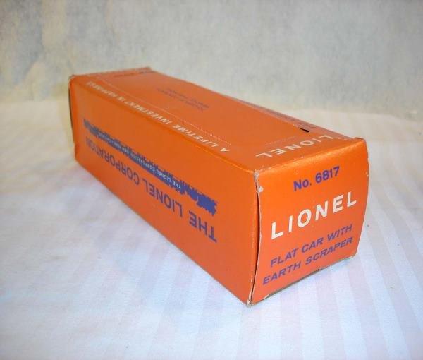 17: ABT:Brick Lionel #6817 AC Scraper Original Box