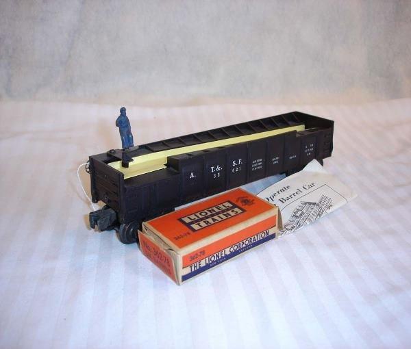 19: ABT:Great Lionel #3562-1 Operating Black Barrel Car