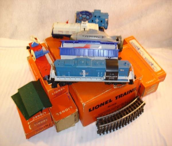 20: ABT:Great Lionel #13028 B&M Space Set/Nice OBs