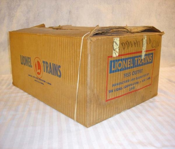 183: ABT:Nice Lionel #2244W Wabash Passenger Set Box