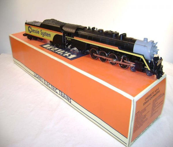 1: ABT: Lionel #18011 Chessie System T-1/OB