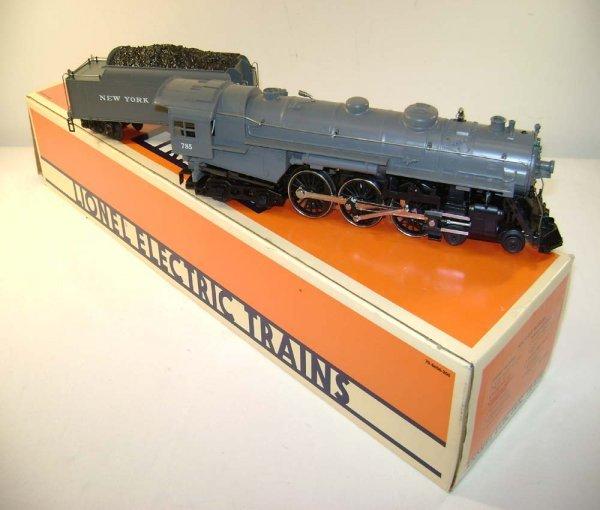 5: ABT: Lionel #18002/785 Gray NYC Hudson & Tender /OB