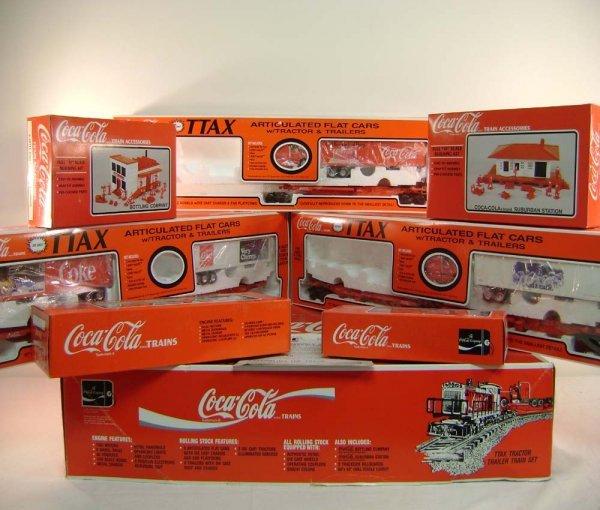 15: ABT: K-Line Coca-Cola TTAX Tractor Trailer Set/Obs
