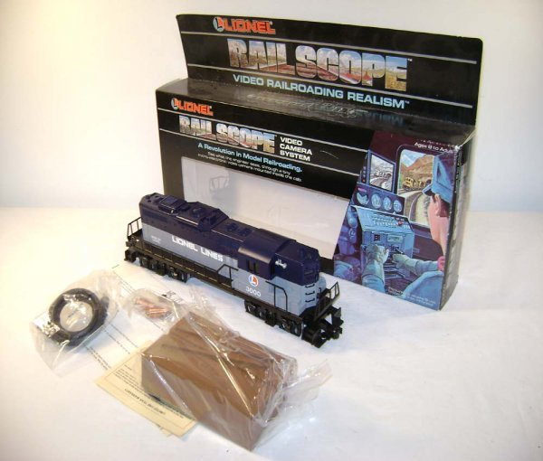 17: ABT: Lionel #33000 Railscope TV GP-9 Diesel/OB