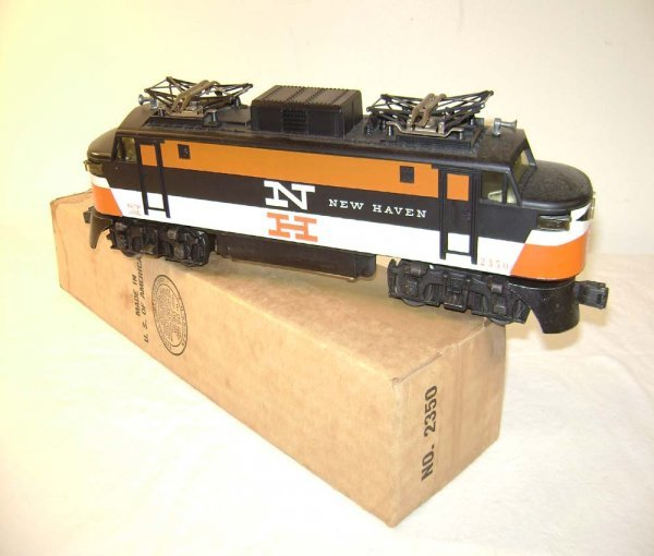 523: ABT: Nice Lionel #2350 New Haven Electric/OB