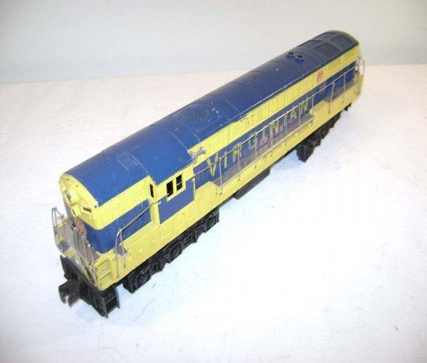 800: ABT: Lionel #2331 Blue/Yellow Va FM - Gray Mold