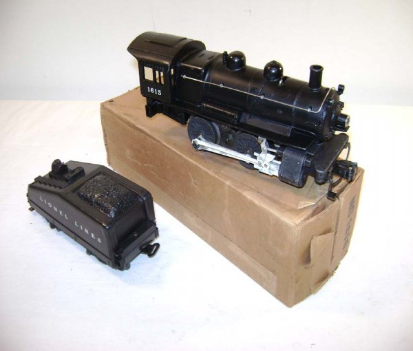805: ABT: Lionel #1615 Diecast Switcher and Tender/OB