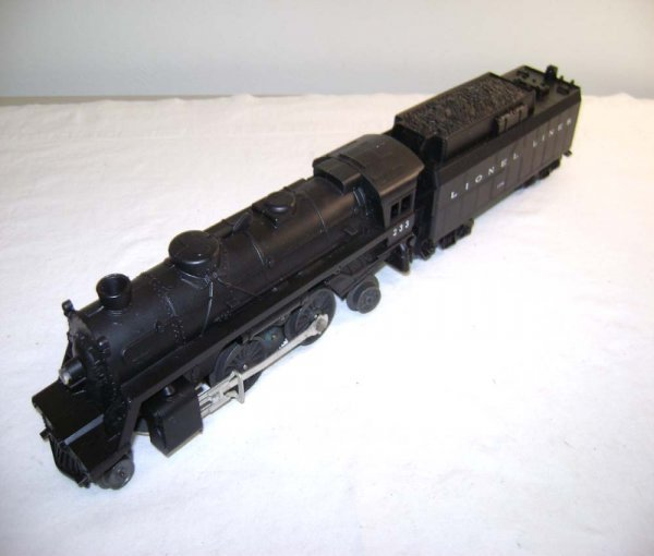 808: ABT: Lionel #233 Scout & #233W Whistle Tender