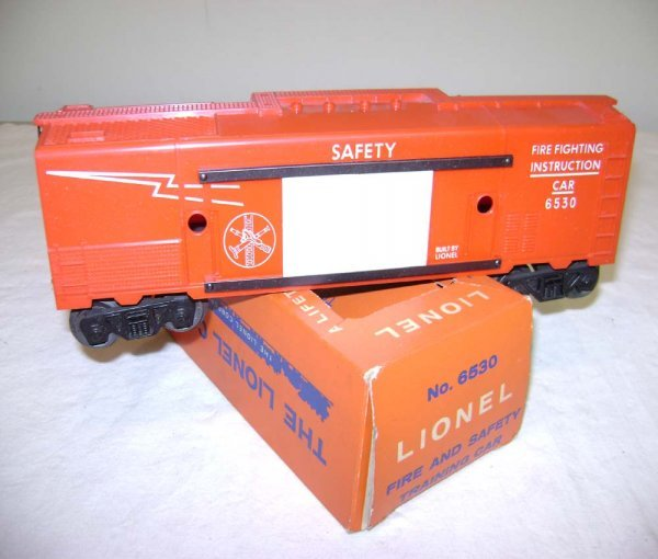 809: ABT: Lionel #6530 Fire Safety Instruction Box Car/