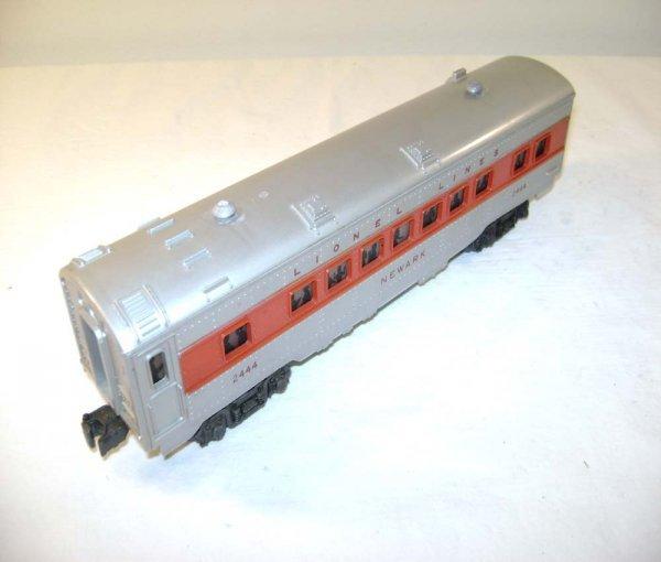 816: ABT: Lionel #2444 Newark Red-Stripe Pullman