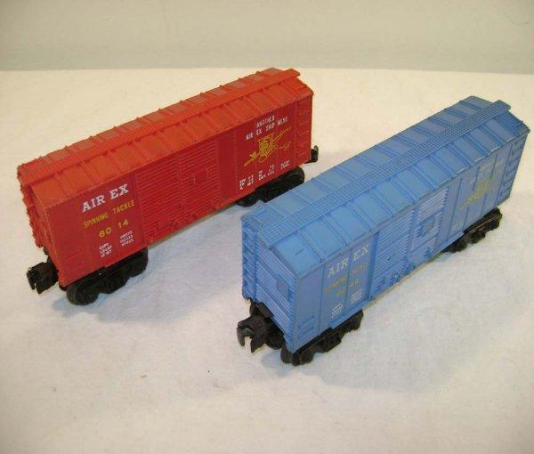 821: ABT: Lionel #6014/6044 Airex Box Cars