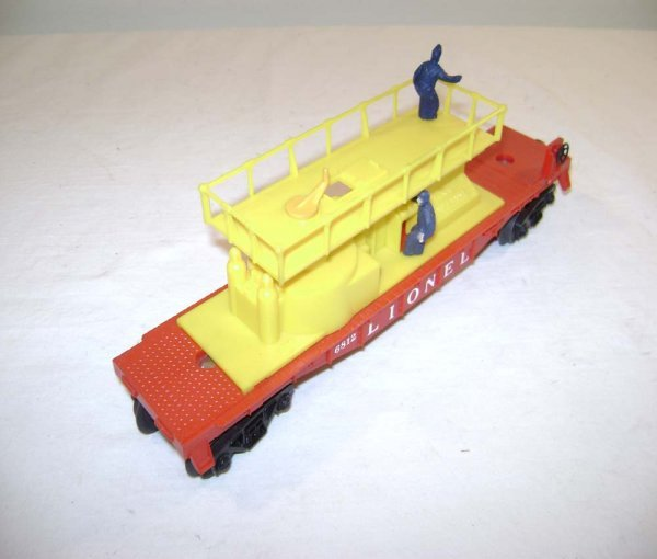 822: ABT: Lionel #6812 Yellow Track Maintenance Car