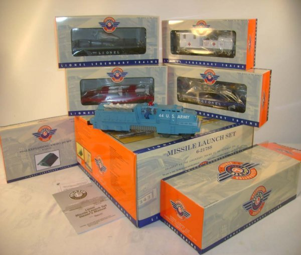 1280: ABT: Lionel #21788 US Army #2527 Military Set/OB