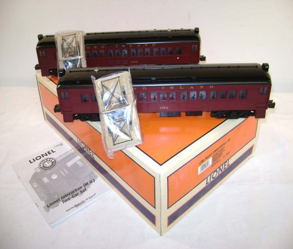 1286: ABT: Lionel #18344 Long Island Commuter MUs/OB