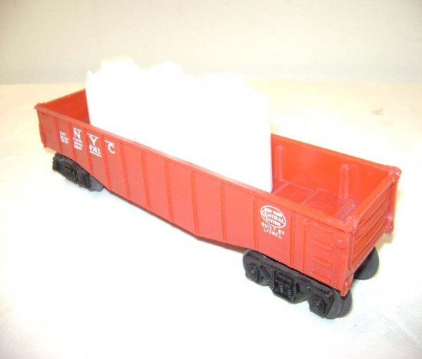 13: ABT: Scarce Lionel #6162-110 RED NYC Gondola