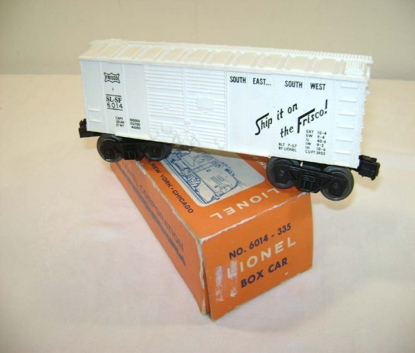 17: ABT: Lionel #6014-335 White Frisco w/Coin Slot/Pix