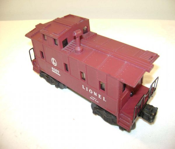 20: ABT: Lionel #6357 SP Caboose w/Painted Stack