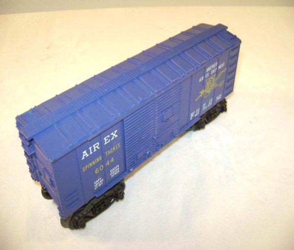 23: ABT: Scarce Lionel #6044 Purple Airex Box Car