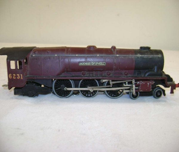 232: ABT: Hornby OO Duchess of Atholl #6231 Streamline  - 9