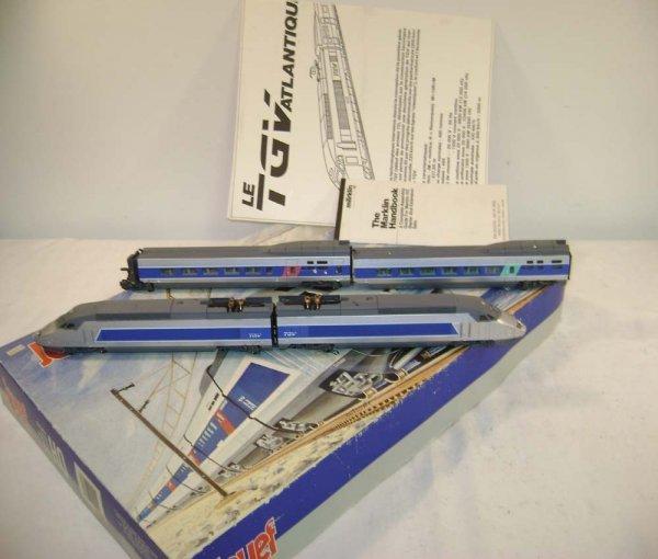 237: ABT: Marklin Jouef HO TGV Streamline Passenger Set