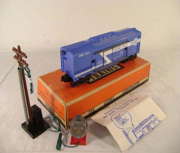 241: ABT: Lionel #3530 Generator Set/Long/Blue/Black/OB